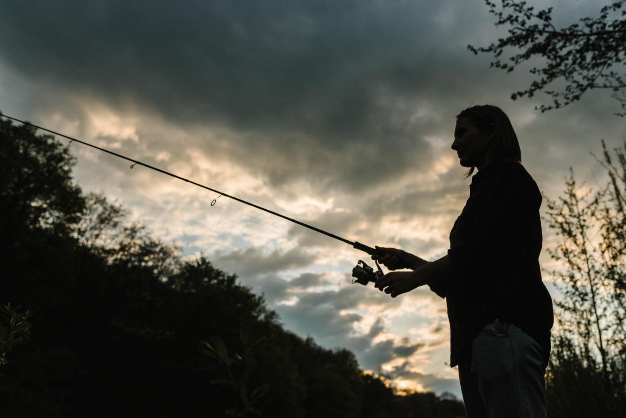 Att fiska på privat mark